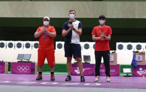 Француз Кікампуа виграв золото Олімпіади у стрільбі з швидкісного пістолета з 25 метрів