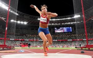 Американка Оллман – олімпійська чемпіонка в метанні диска