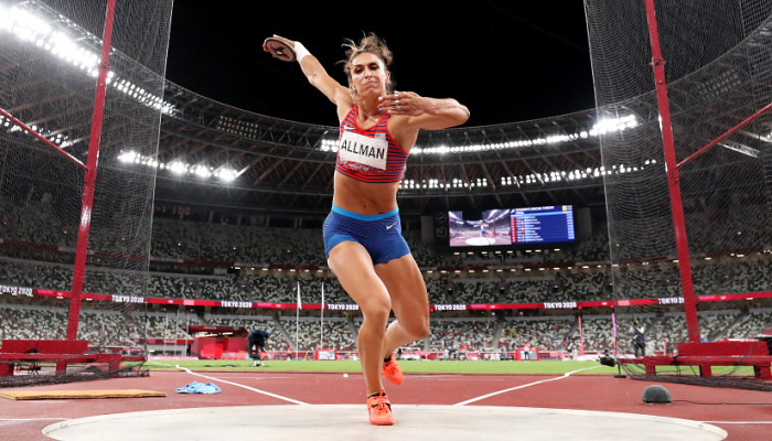 Американка Оллман — олимпийская чемпионка в метании диска