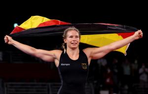 Німкеня Роттер-Фоккен стала олімпійською чемпіонкою в боротьбі у ваговій категорії до 76 кг