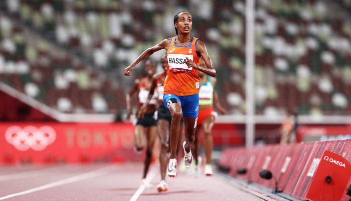 Хассан виграла олімпійське золото в бігу на 5000 метрів