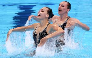 Федина та Савчук з третім результатом вийшли у фінал Олімпіади в артистичному плаванні