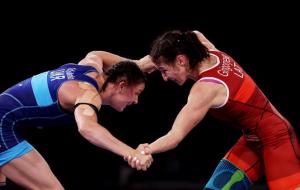 Українка Коляденко завоювала олімпійську бронзу у вільній боротьбі