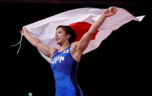 Японка Каваи стала олимпийской чемпионкой по вольной борьбе в категории до 62 кг