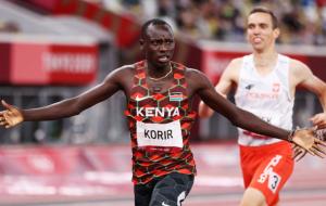 Кениец Корир — олимпийский чемпион в беге на 800 метров