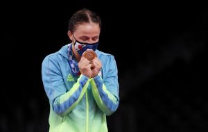 Украинка Коляденко завоевала олимпийскую бронзу в вольной борьбе