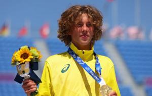 Австралийский скейтбордист Палмер завоевал золото Олимпийских игр