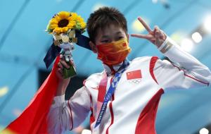 Китаянка Хунчань Цюань стала олімпійською чемпіонкою зі стрибків у воду з вишки