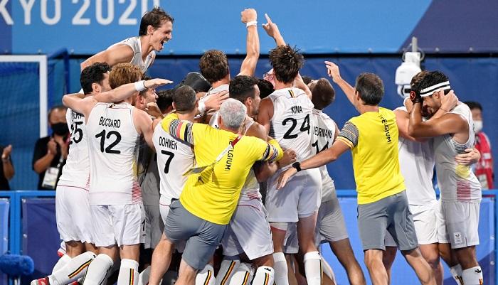 Чоловіча збірна Бельгії стала олімпійським чемпіоном з хокею на траві