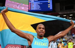 Гардінер з Багамських островів став олімпійським чемпіоном у бігу на 400 м