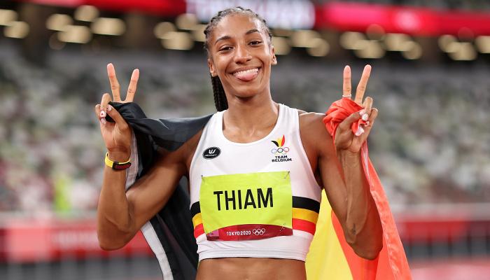Тіам стала дворазовою олімпійською чемпіонкою в семиборстві