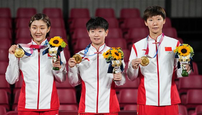 Сборная Китая выиграла женский командный турнир по настольному теннису на Олимпиаде