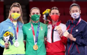 Терлюга выиграла серебро олимпийского турнира по каратэ