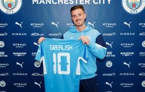 Ман Сити объявил о подписании шестилетнего контракта с Грилишем