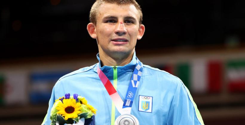 Хижняк нокаутом проиграл в финале Олимпийских игр и выиграл серебро