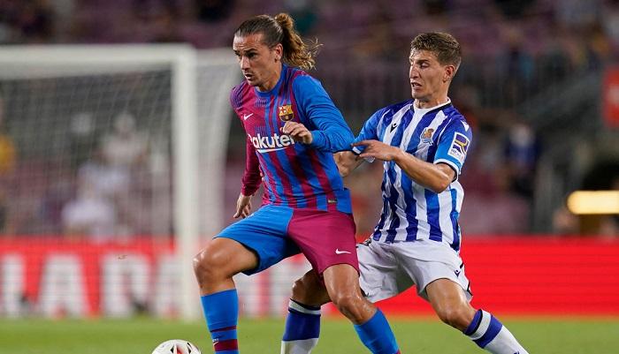 Гризманн провел 100 матчей в составе Барселоны
