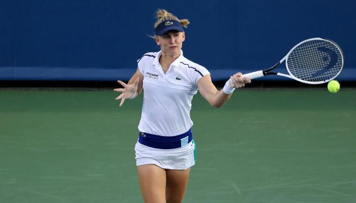 Тайхманн стала другою фіналісткою турніру WTA в Цинциннаті