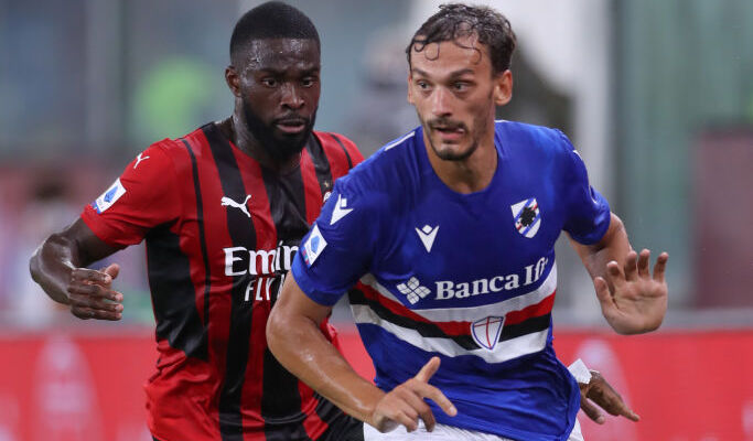 Милан победил Сампдорию на старте Серии А