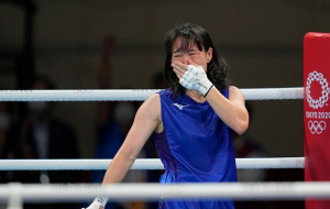 Японка Ириэ выиграла золото в боксе до 57 кг