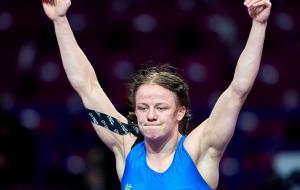 Коляденко без шансов проиграла в полуфинале олимпийского турнира по борьбе