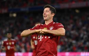 Левандовські — перший, хто забив у 13 домашніх матчах Бундесліги поспіль