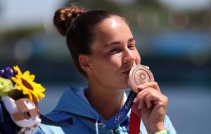Украинка Лузан выиграла бронзовую медаль Олимпиады в гребле