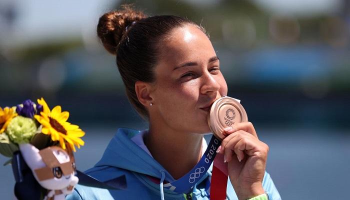 Українка Лузан виграла бронзову медаль Олімпіади у веслуванні