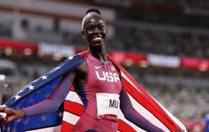 Американка Атинг Му стала олимпийской чемпионкой в беге на 800 метров