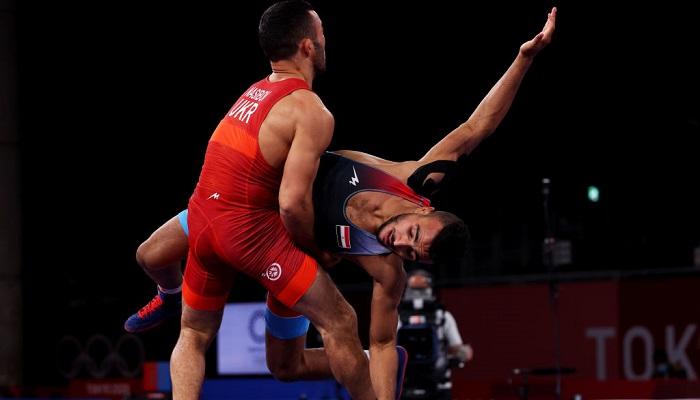 Насибов вышел в финал олимпийского турнира по борьбе