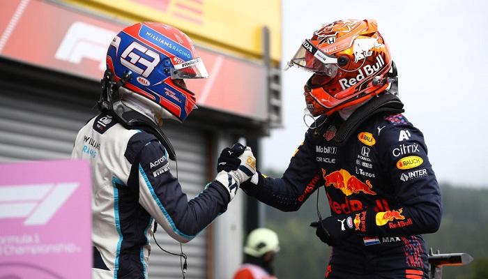 Ферстаппен виграв кваліфікацію Гран-прі Бельгії. Расселл стартує з першого ряду