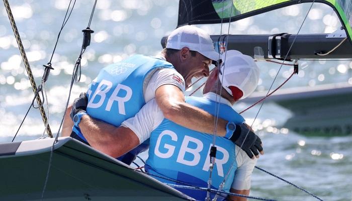 На Олімпіаді розіграли чотири комплекти нагород у вітрильному спорті
