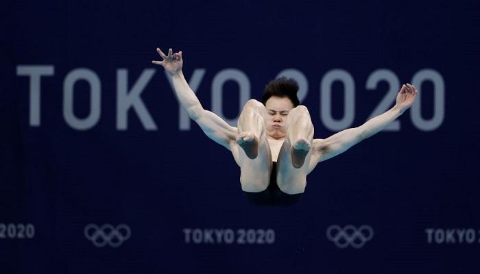 Китаєць Се Сиї став олімпійським чемпіоном зі стрибків у воду з трампліна