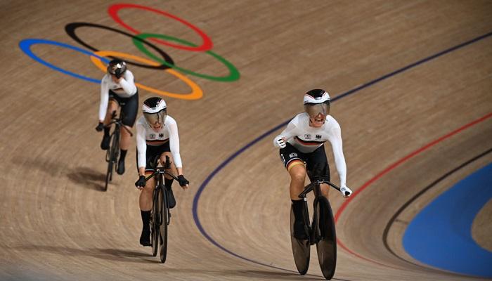 Германия и Нидерланды выиграли золотые медали Олимпиады в велотреке