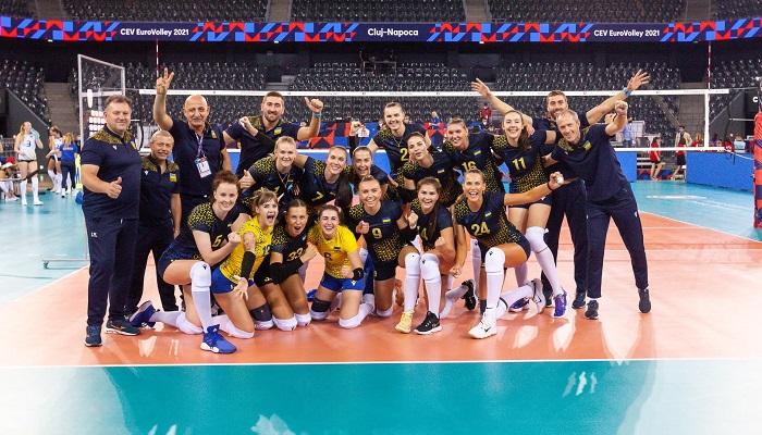 Жіноча збірна України обіграла Румунію на чемпіонаті Європи з волейболу