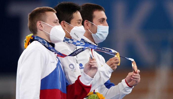 Кореец Син Джи-хван — Олимпийский чемпион в опорном прыжке
