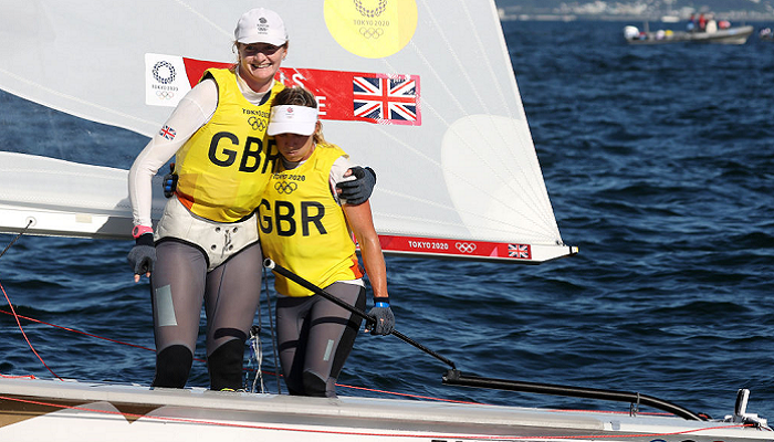 Британки стали олімпійськими чемпіонками з парусного спорту в класі 470