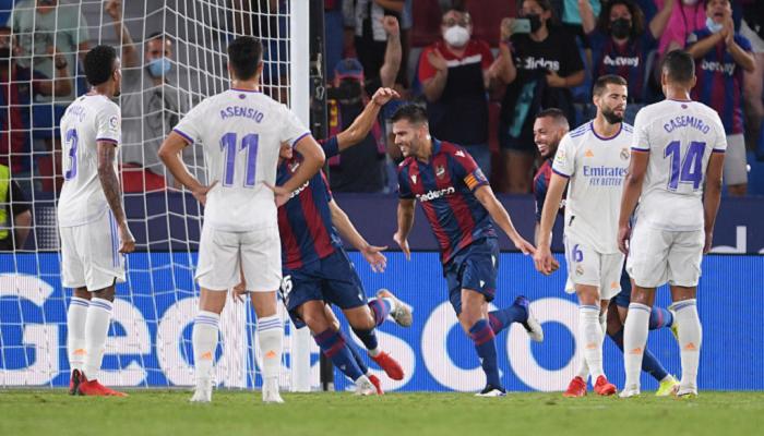 Реал в неймовірному матчі з шістьма голами зіграв внічию з Леванте