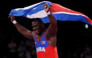 Лопес Нуньес из Кубы стал Олимпийским чемпионом в греко-римской борьбе до 130 кг