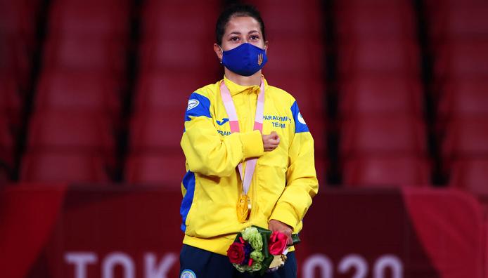 Литовченко принесла Украине 11-е золото Паралимпиады, победив в финале турнира по настольному теннису