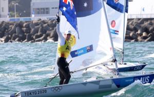 Австралиец Уэрн выиграл золото Олимпиады по парусному спорту в классе лазер