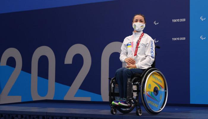 Плавчиха Мерешко виграла друге для себе золото Паралімпіади-2020 і третю медаль загалом
