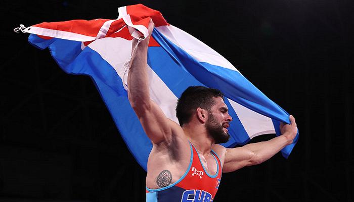 Кубинец Орта Санчес выиграл золото Олимпиады в греко-римской борьбе до 60 кг