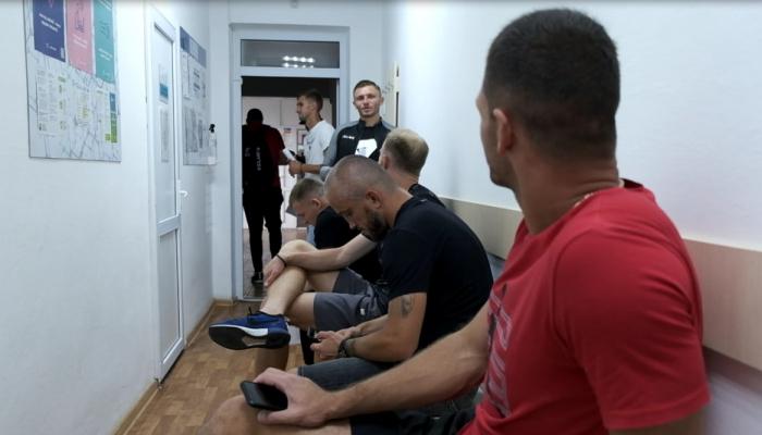 Футболисты Вереса вакцинировались от COVID-19