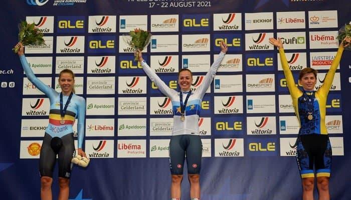 Українка Ярошенко виграла бронзу молодіжного чемпіонату Європи з велотреку