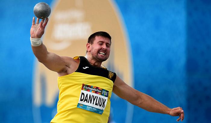 Данилюк стал серебряным призером Паралимпиады в толкании ядра