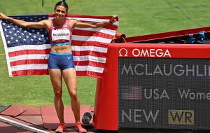 Американка Маклафлин с мировым рекордом выиграла золото Олимпиады в забеге на 400 м с барьерами