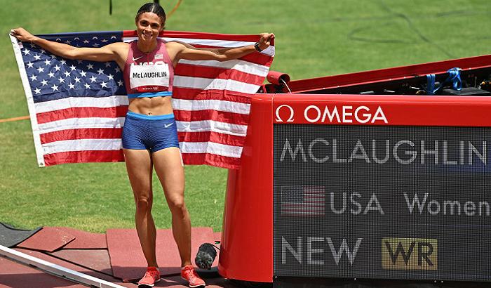 Американка Маклафлін зі світовим рекордом виграла золото Олімпіади в забігу на 400 м з бар'єрами