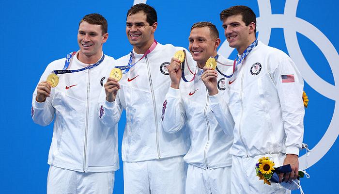 Плавці з США та Австралії виграли естафети 4х100 на Олімпіаді, індивідуальне золото у Дресселя і Маккеон
