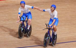 Італія зі світовим рекордом виграла золото Олімпіади з велотреку в командній гонці переслідування