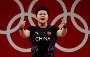 Китаянка Ванг виграла золото Олімпіади у важкій атлетиці до 87 кілограм